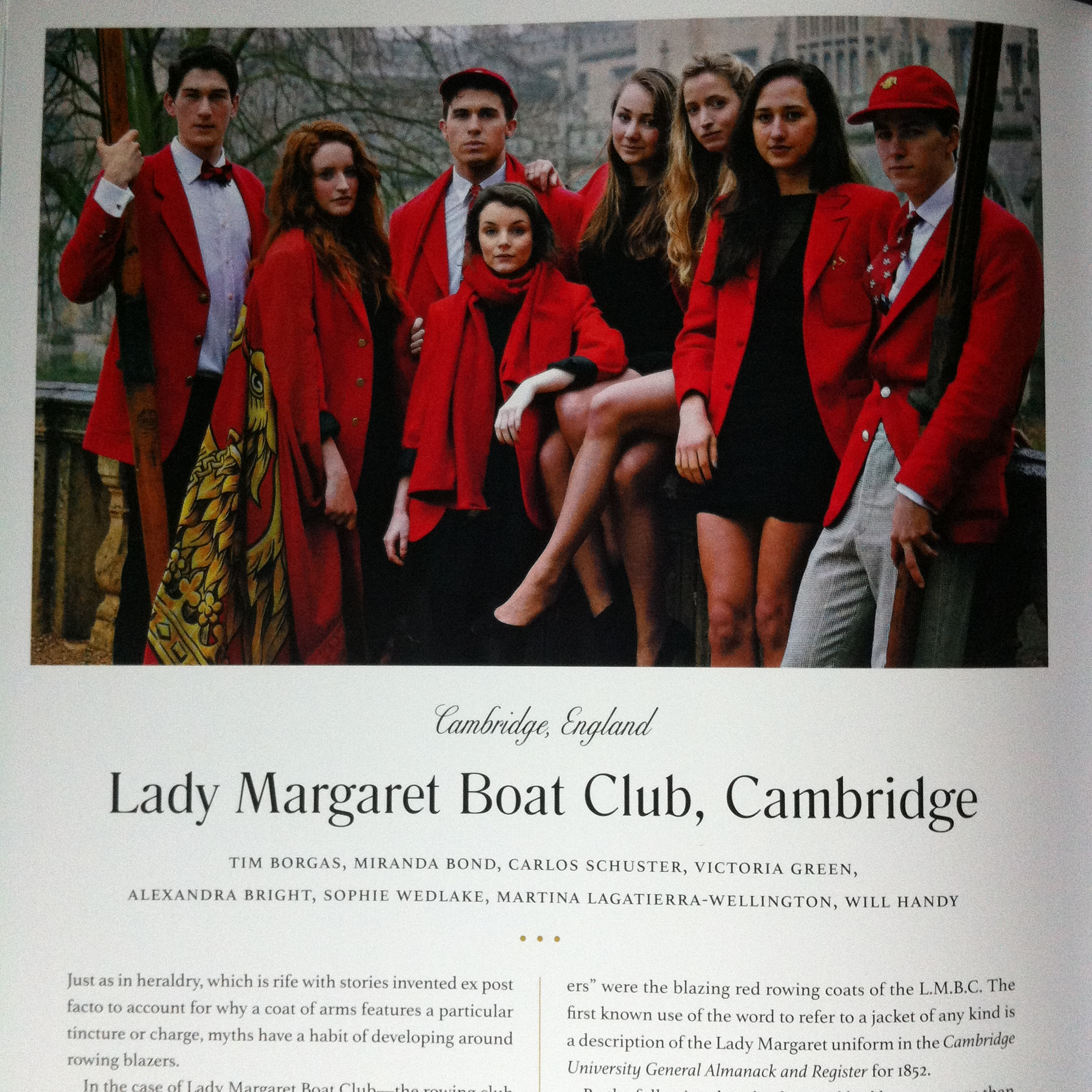 rowing blazers, lady margaret boat club, rowing, jack carlson