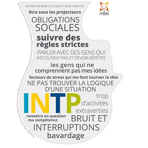 INTP sous stress 16 types