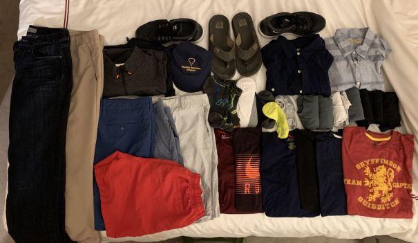digital nomad packing