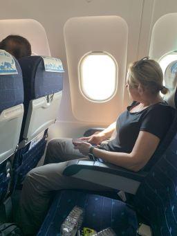 Bangkgok airlines economy seat