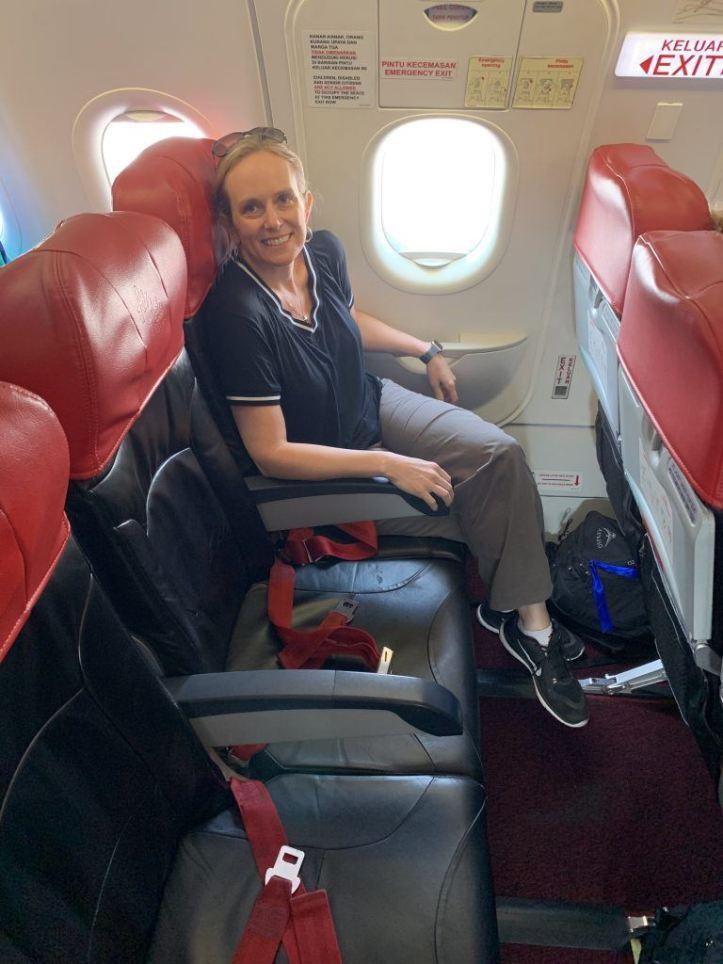 AirAsia exit row