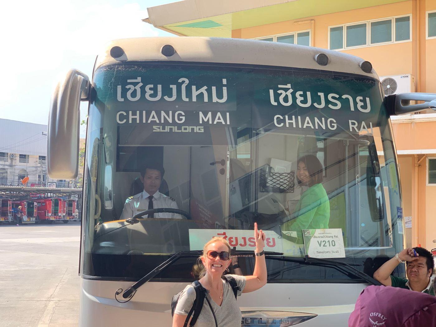 VIP Green Bus Chiang Mai to Chiang Rai