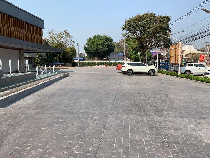 Sann hotel chiang rai parking