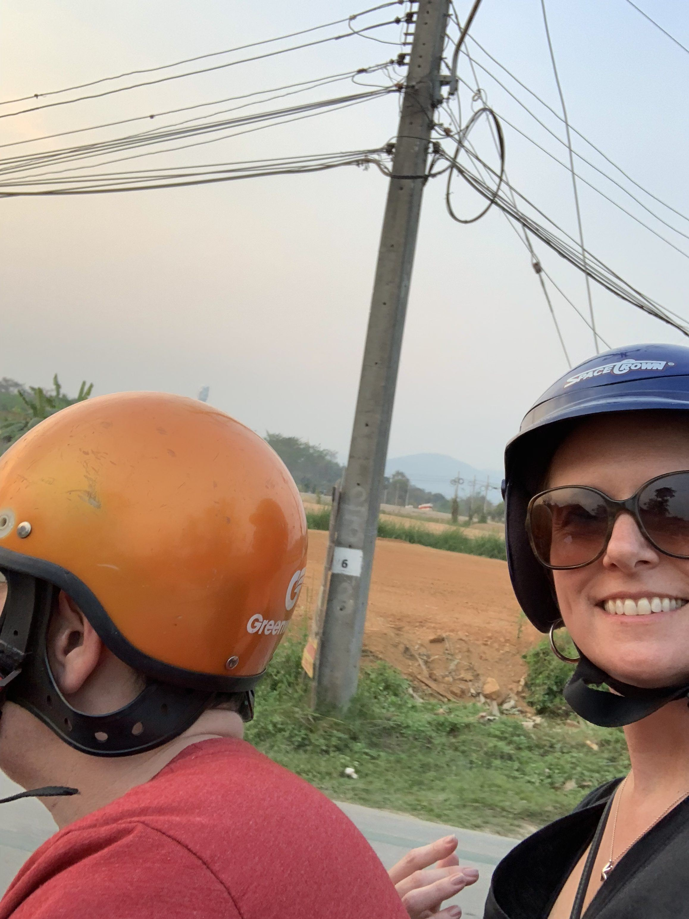 scooter ride chiang rai