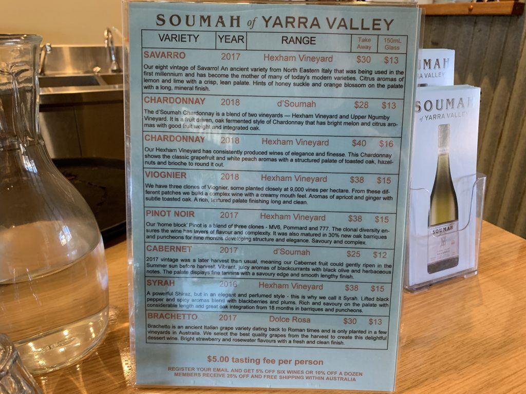 Wine Tasting in the Yarra Valley Australia