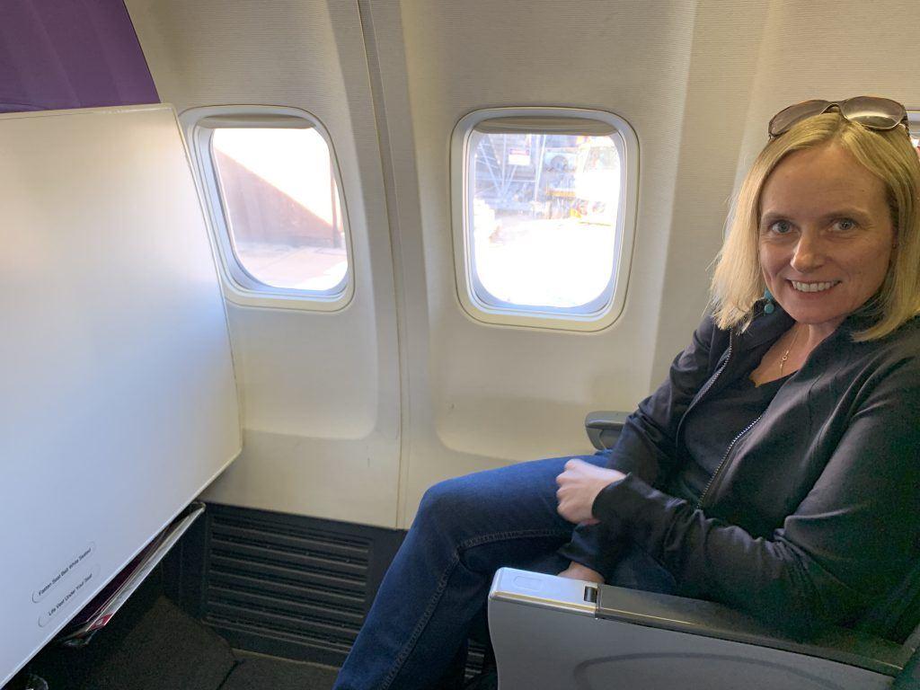 Virgin Australian Melbourne to Hobart