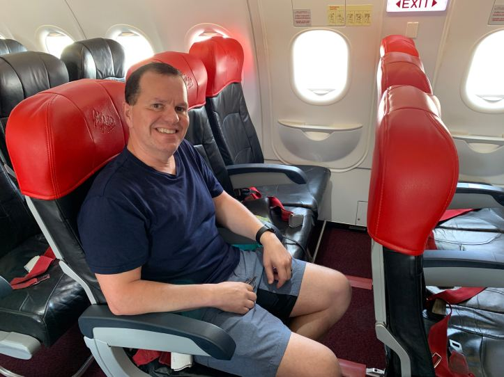 AirAsia Exit Row Hot Seat