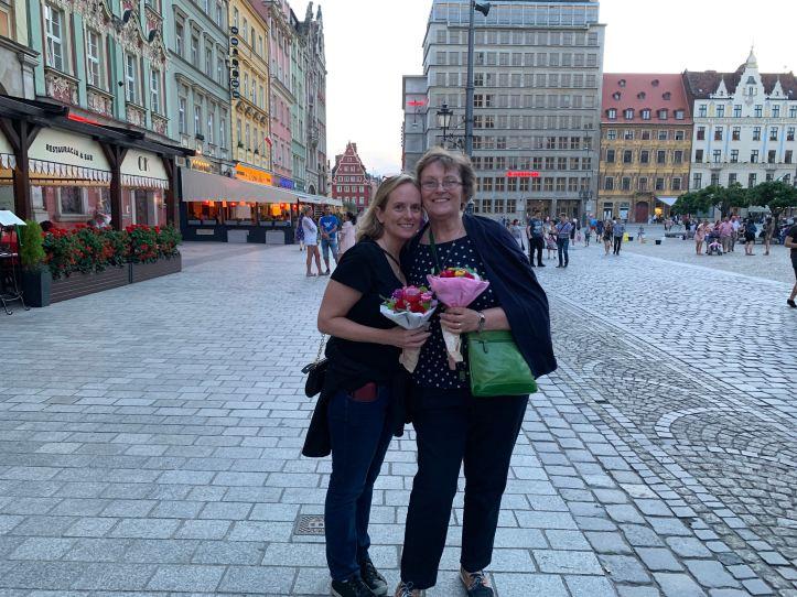 Flower Market Wroclaw Poland