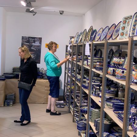 Bolesławiec, Poland Pottery Shopping