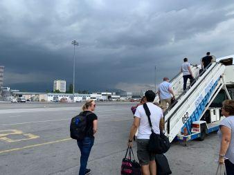 Bulgaria Air Boarding