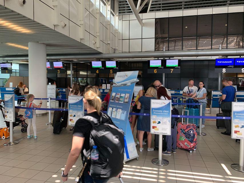Bulgaria Air Check in Sofia