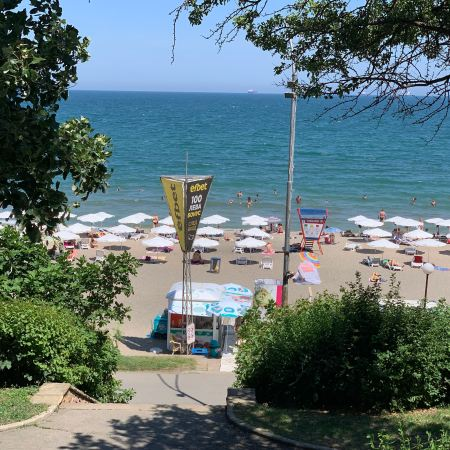 Beach in burgas bulgaria