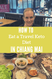 How to eat a travel keto diet in Chiang Mai