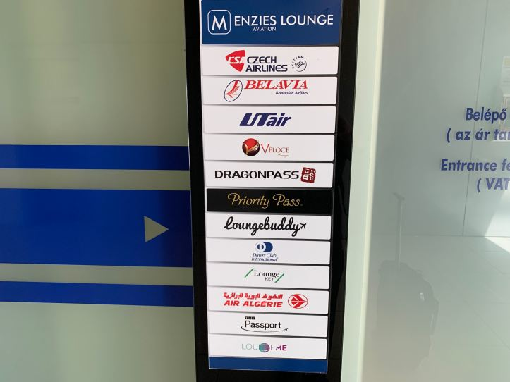 Menzies Aviation Lounge Partners