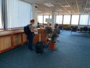Priority Pass Sofia Terminal 1 Lounge Check In Desk