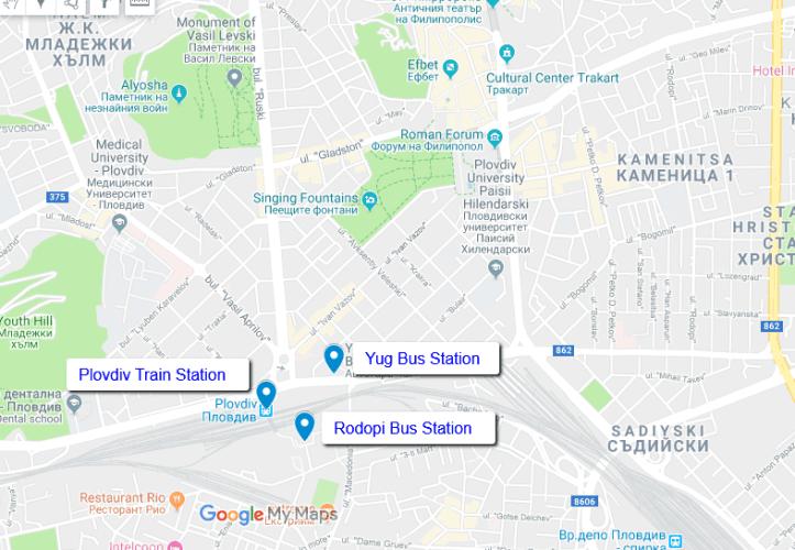 Plovdiv Bus Stations