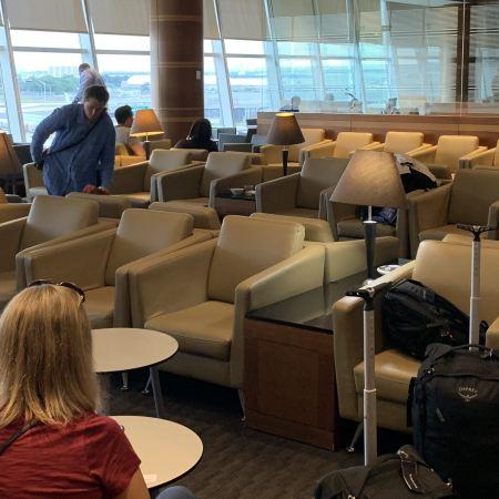 KAL Lounge JFK Terminal 1