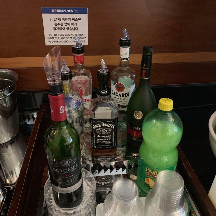 Liquor JFK Terminal 1 Priority Pass Lounge