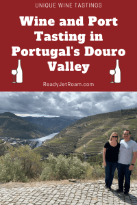 Wine and Port Tasting in Portugal's Douro Valley