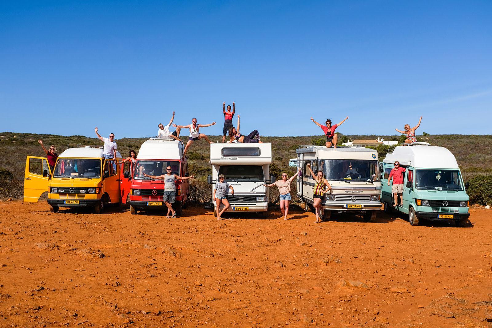 Camper retreat Campervans in Portugal