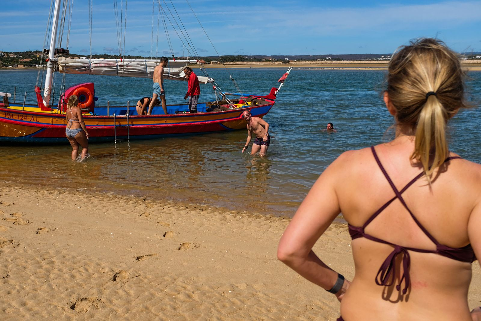 Camper retreat Digital Nomad Campervan Algarve Portugal Caravan Boat