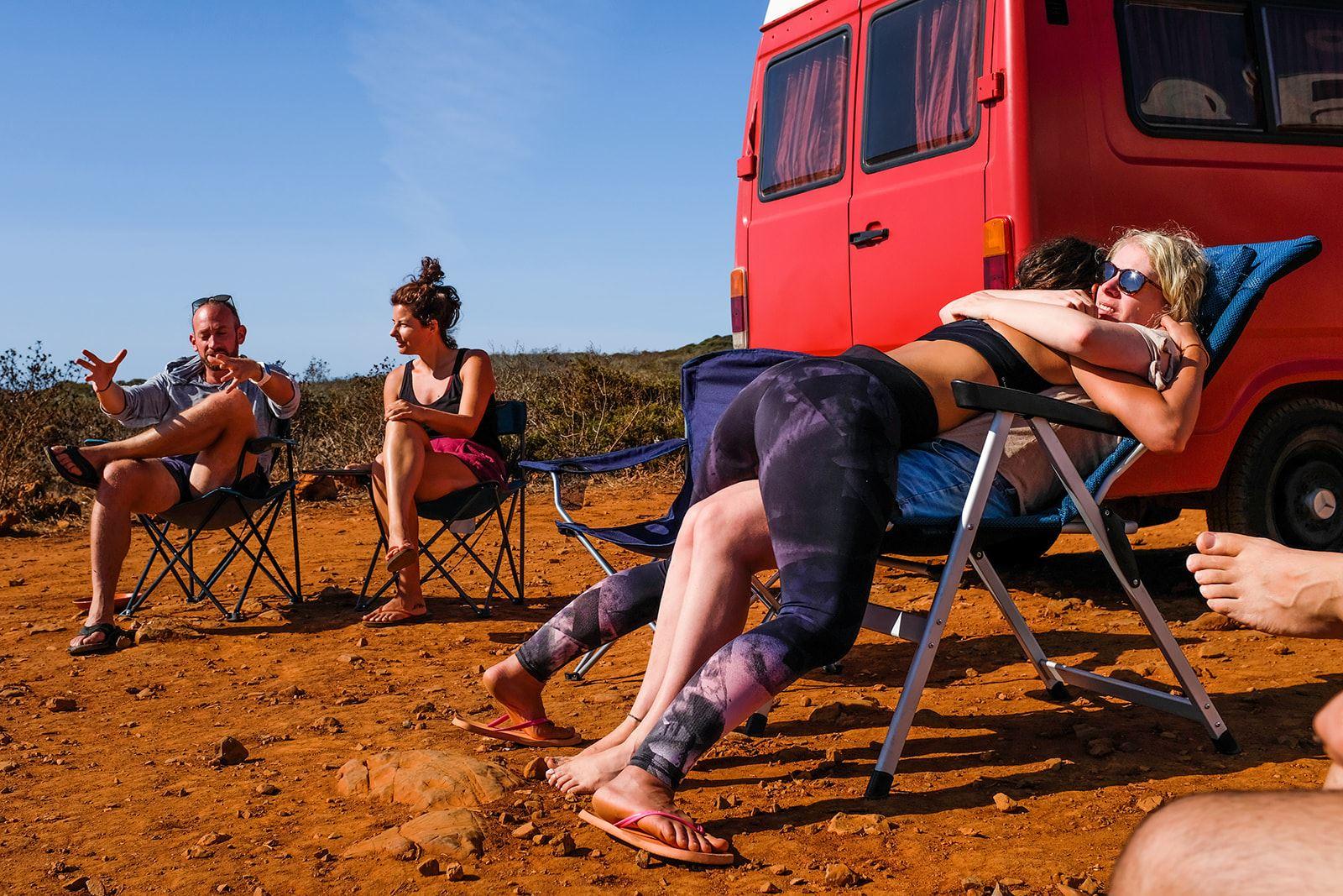 hugs campervan portugal Camper Retreats