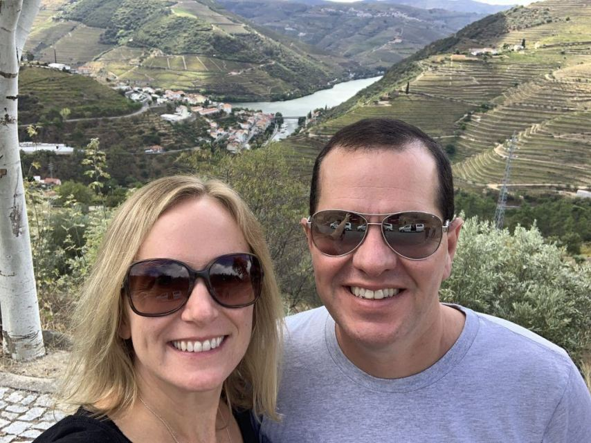 Port Tasting at Terraced Vineyards Douro Valley Portugal Wine Tasting
