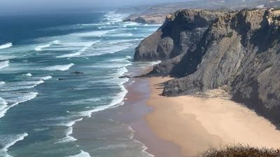 Cliffs in Portugal