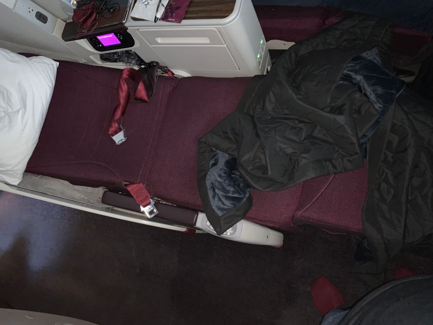 Air Italy Business Class Lay Flat Seat