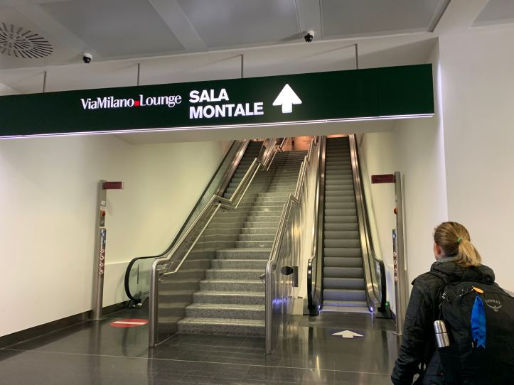 Directions to Priority Pass Lounge Malpensa Airport Terminal 1 Sala Montale