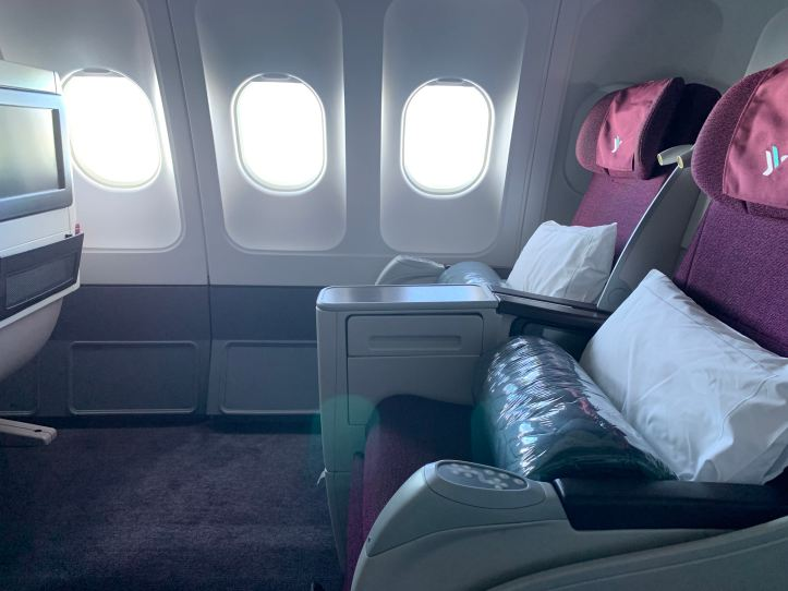 Air Italy Business Class Empty Seats