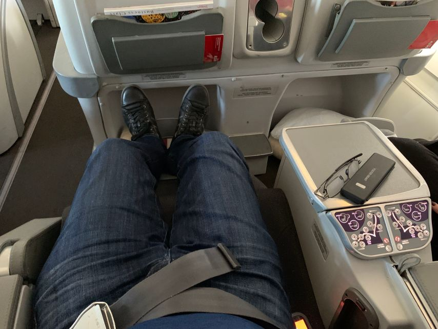 Avianca Business Class A330 Legroom