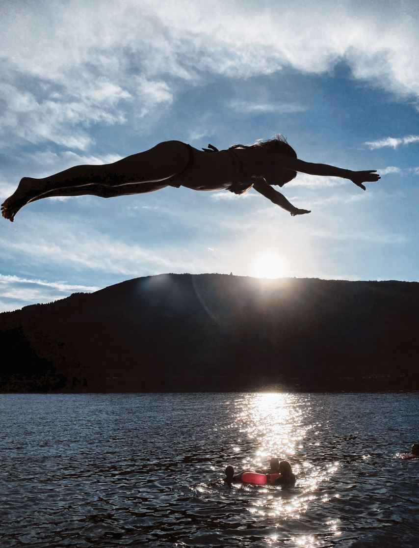 Diving into Pineview Reservoir Amazing