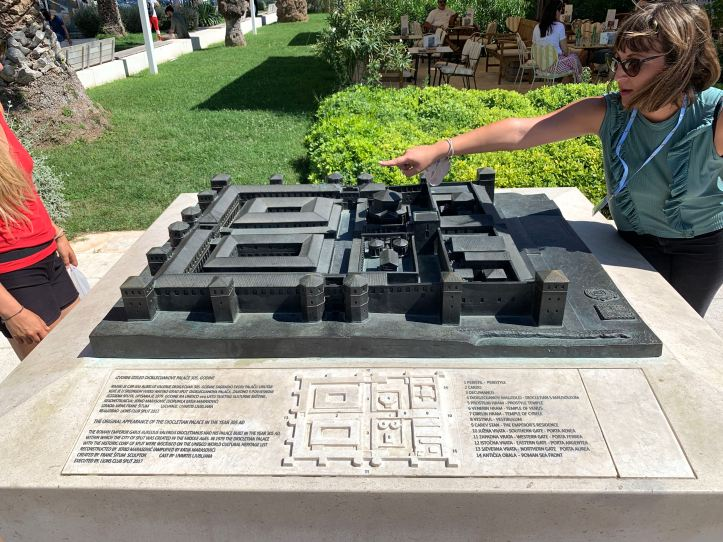 Model of Diocletian's Palace Walking Tour