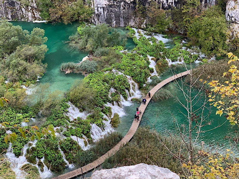 Plitvice Lakes National Park Spectacular View