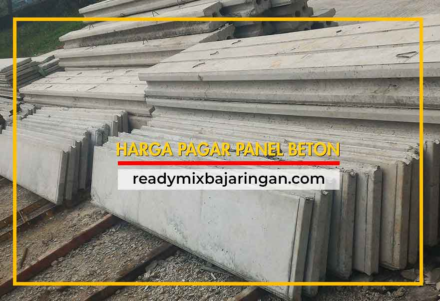 Harga Pagar Panel Beton dan Kolom