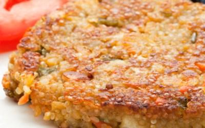 Golden Quinoa Fritters