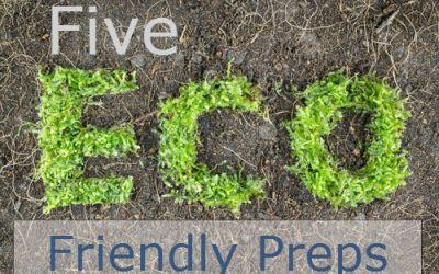 Five Eco Friendly Alternatives For Emergency Preparedness