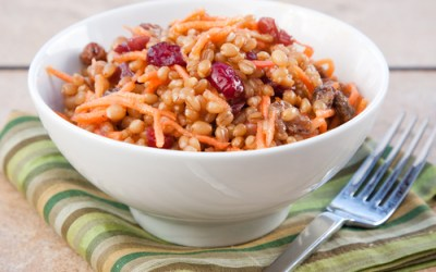 Sweet Wheat Berry Cranberry Salad