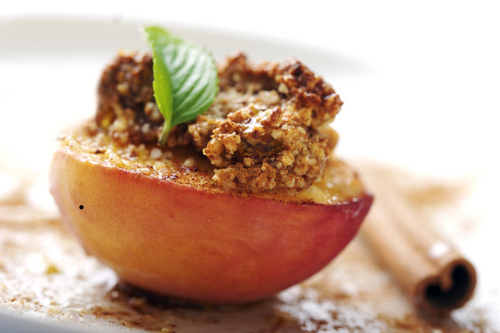Sweet Baked Peaches