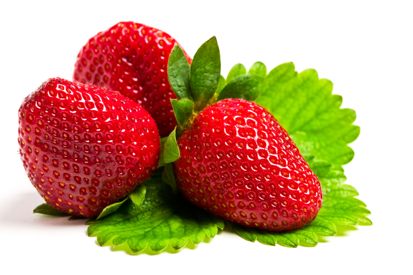 Strawberries for Great Skin