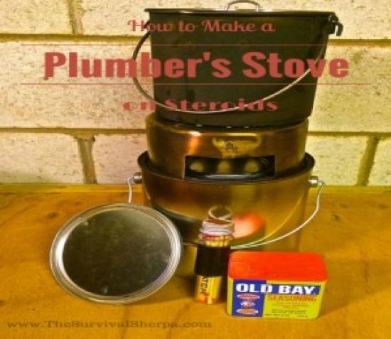 plumber's stove