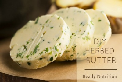 6 DIY Savory Herbed Butter Recipes