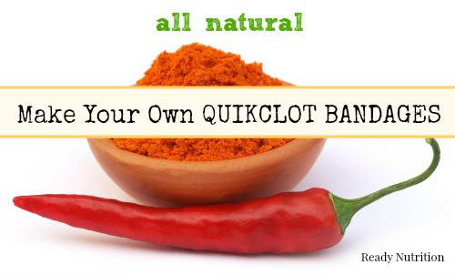 Make Your Own Natural QuikClot