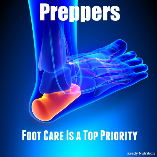 Preppers – Foot Care is a Top Priority