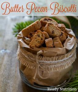 Butter Pecan Biscotti