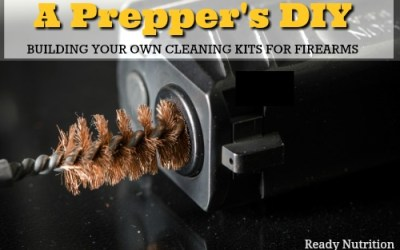 A Prepper's DIY: Building Your Own Cleaning Kits for Firearms