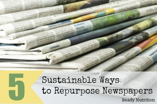 newspaper sustainable