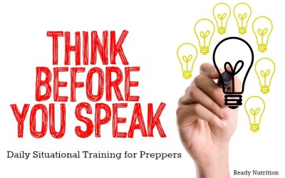 Think Before You Speak: Daily Situational Training