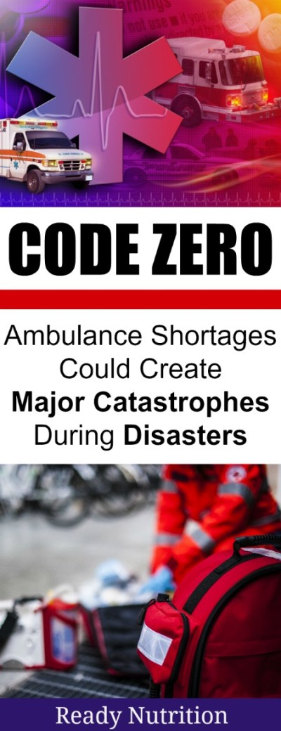 Could the countrywide ambulance shortage create a major catastrophe during a major disaster?
